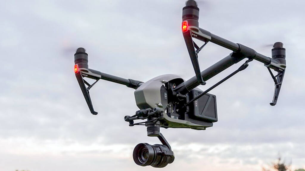 DJI Inspire 2 with Xenmuse X7
