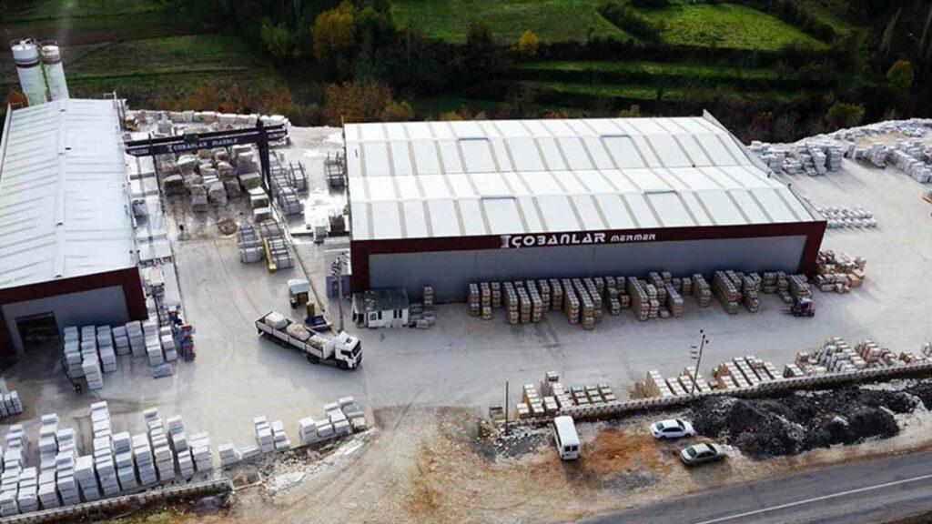 Çobanlar Mermer Drone Fotoğraf Çekimi 6