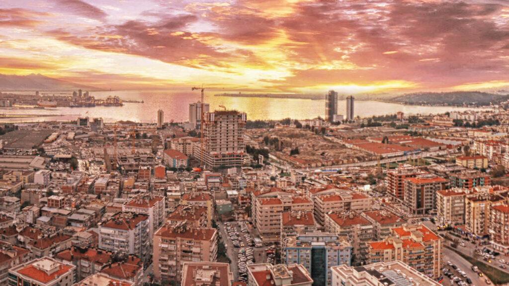 İzmir Belediyesi Havadan Fotoğraf Çekimi 2