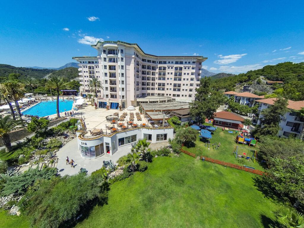 Elize Resort Hotel Drone Çekimi -01