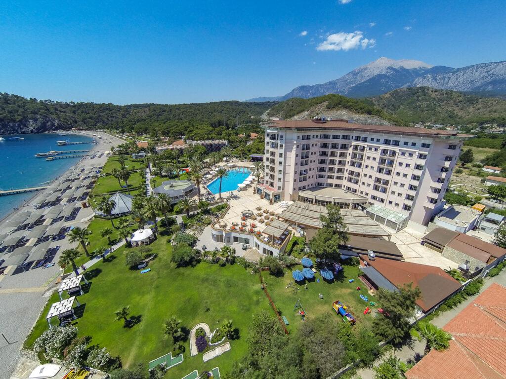 Elize Resort Hotel Drone Çekimi -02