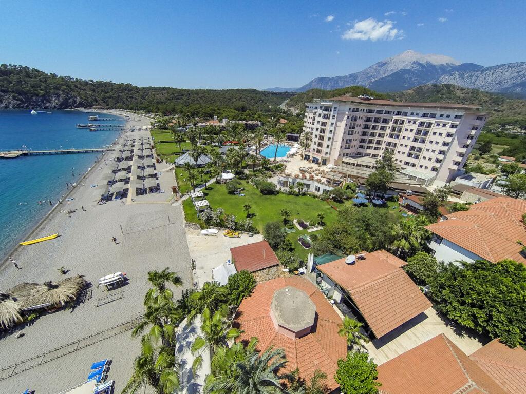 Elize Resort Hotel Drone Çekimi -03