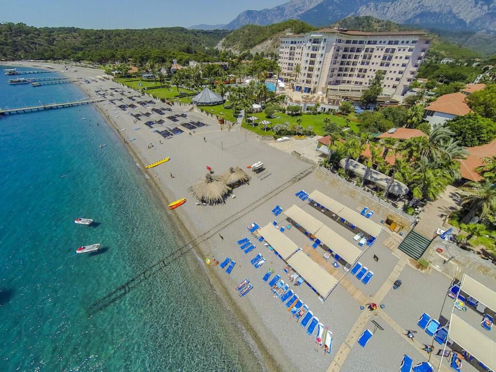 Elize Resort Hotel Drone Çekimi -06