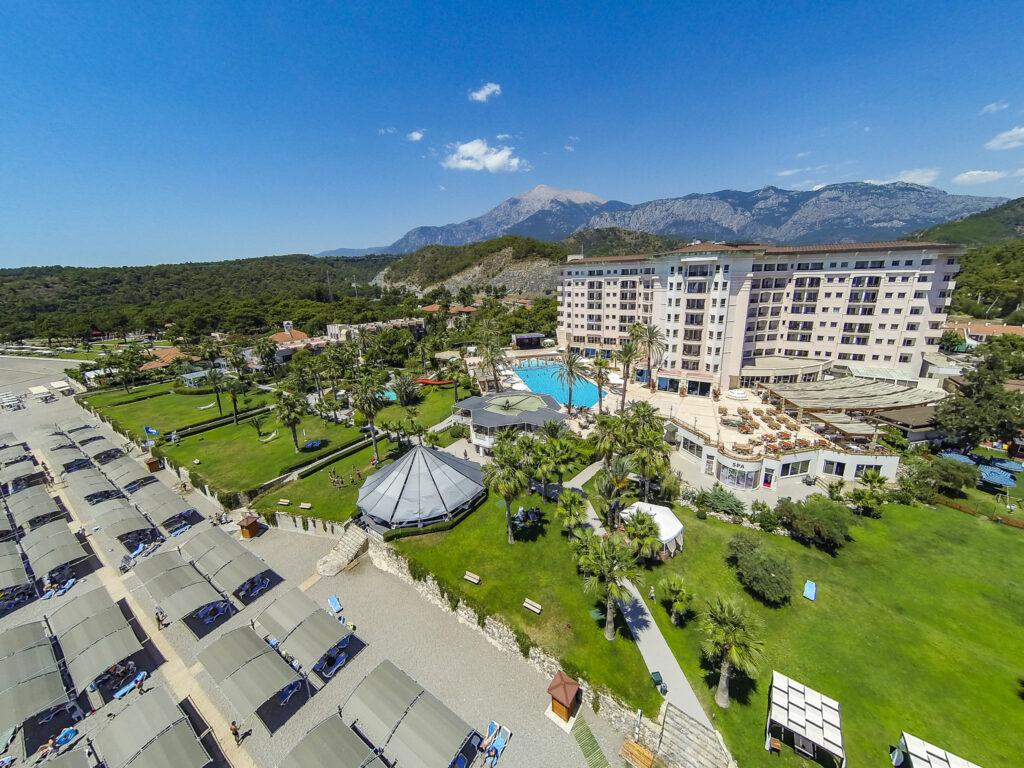 Elize Resort Hotel Drone Çekimi -07