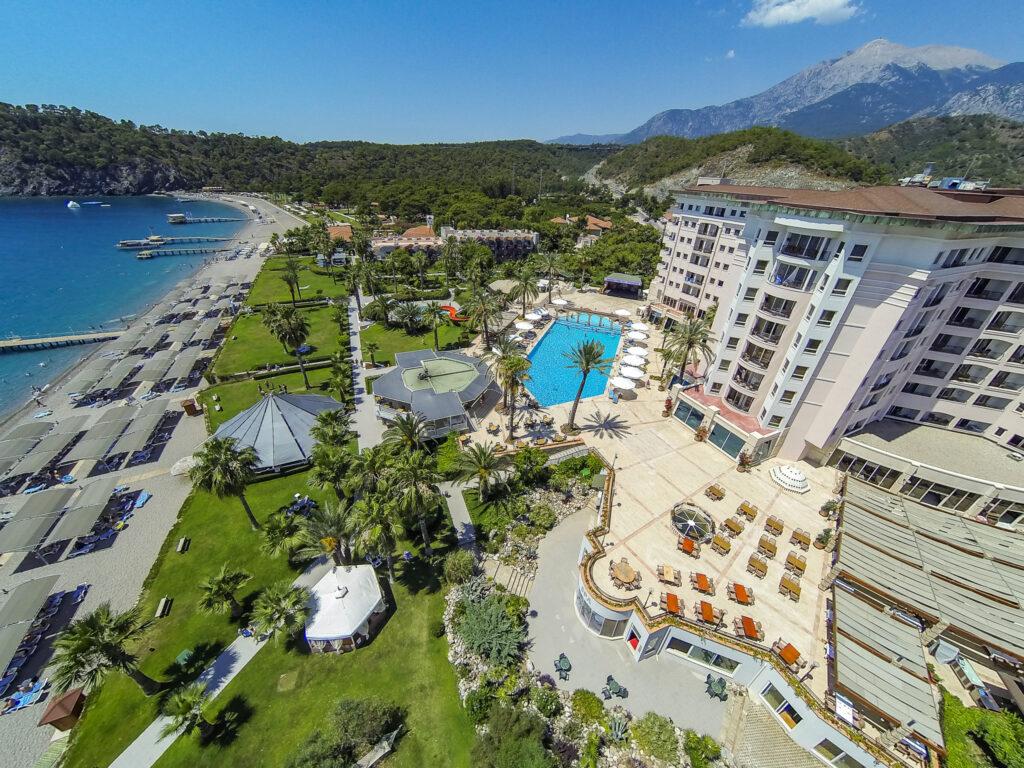 Elize Resort Hotel Drone Çekimi -08
