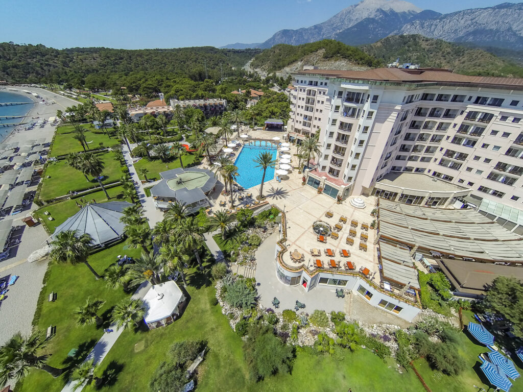 Elize Resort Hotel Drone Çekimi -09