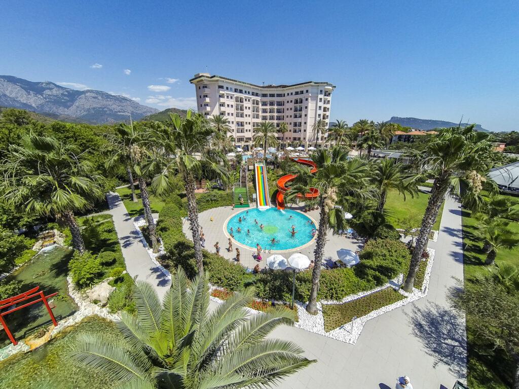 Elize Resort Hotel Drone Çekimi -10