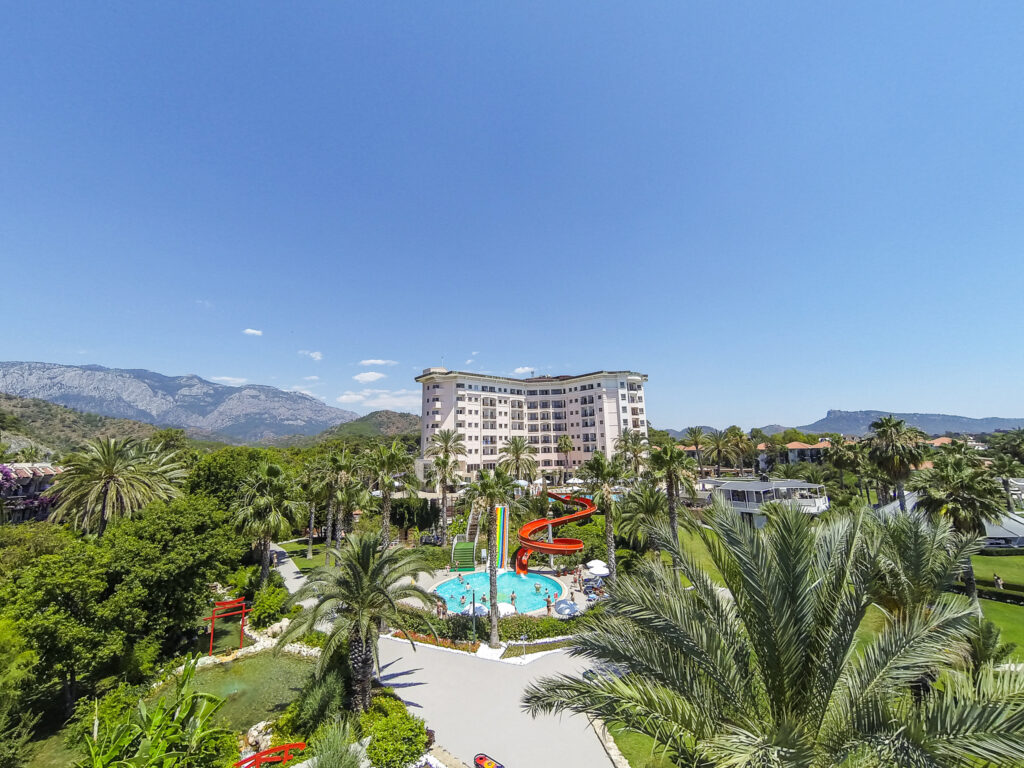 Elize Resort Hotel Drone Çekimi -12