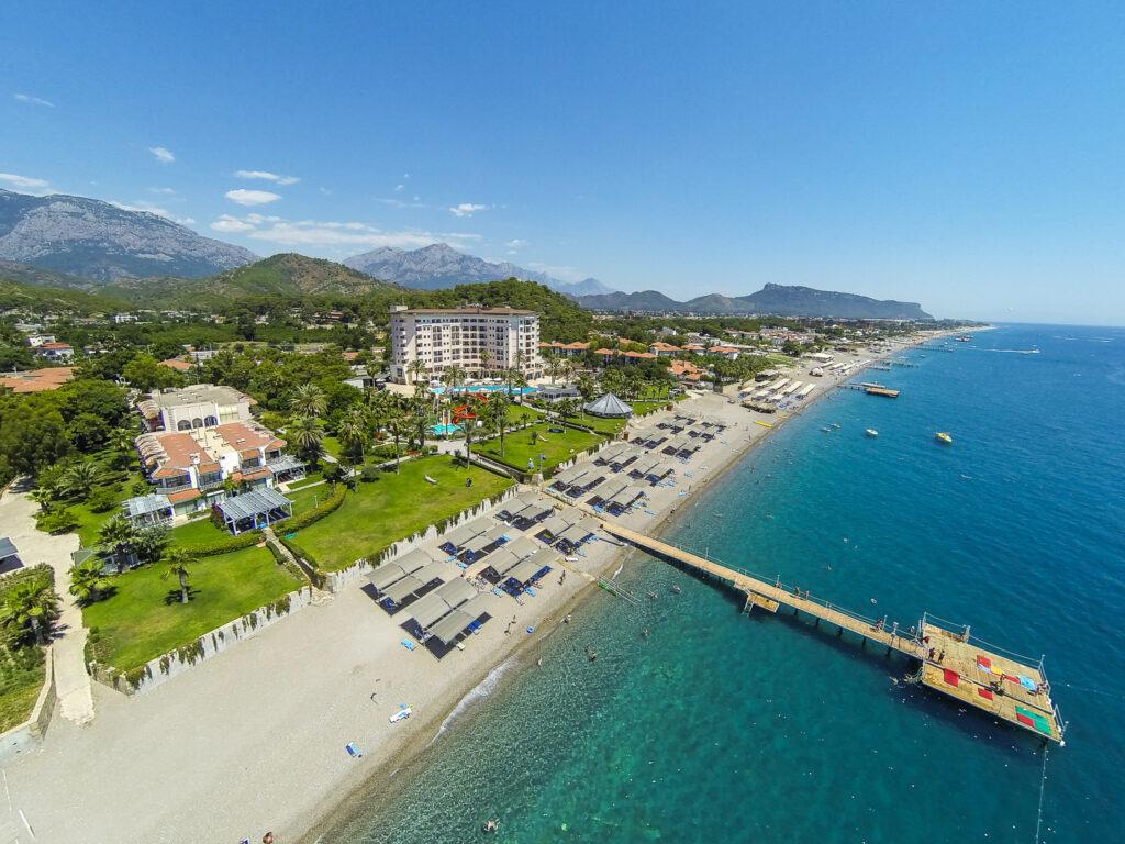 Elize Resort Hotel Drone Çekimi -13