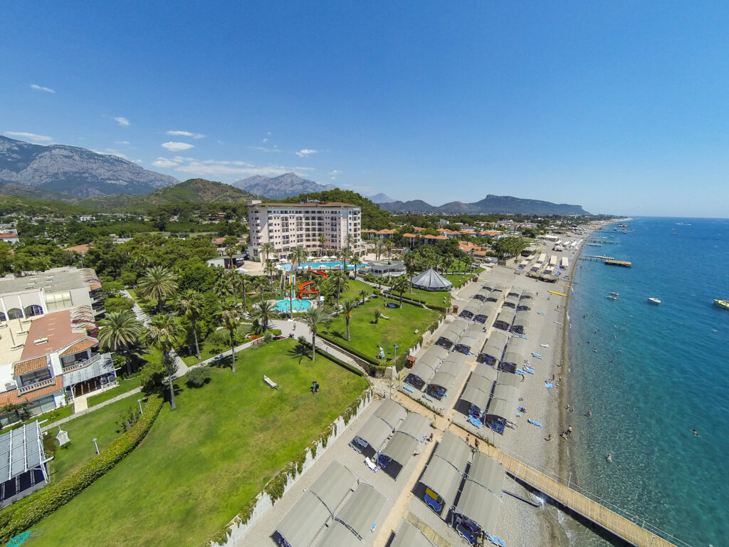 Elize Resort Hotel Drone Çekimi -14