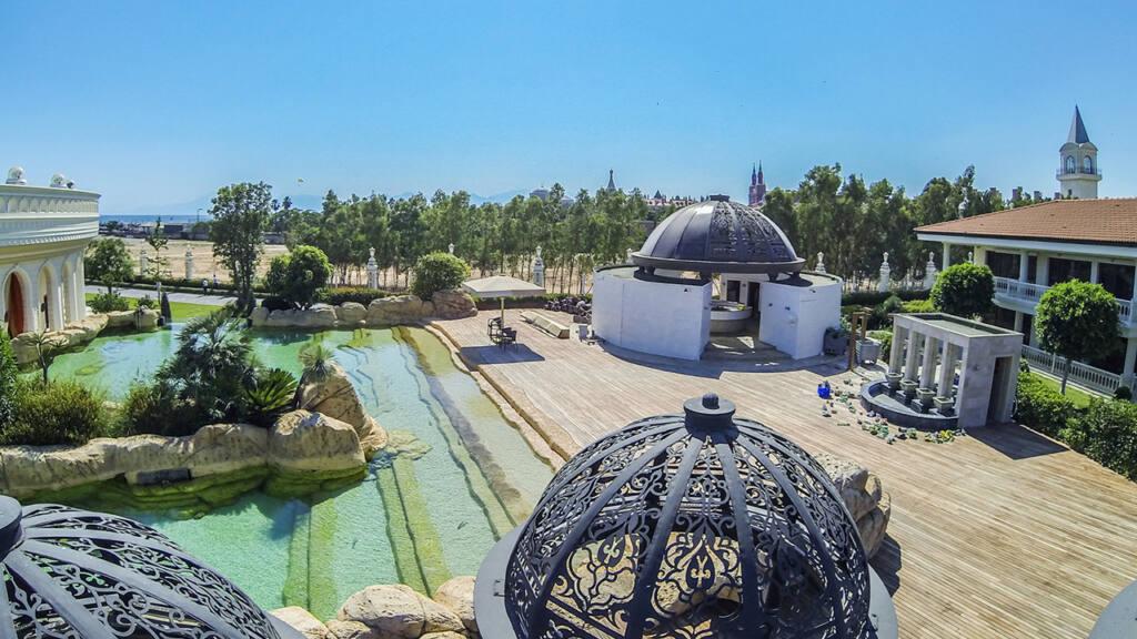 Grand Mardan Hotel Drone Çekimi 10