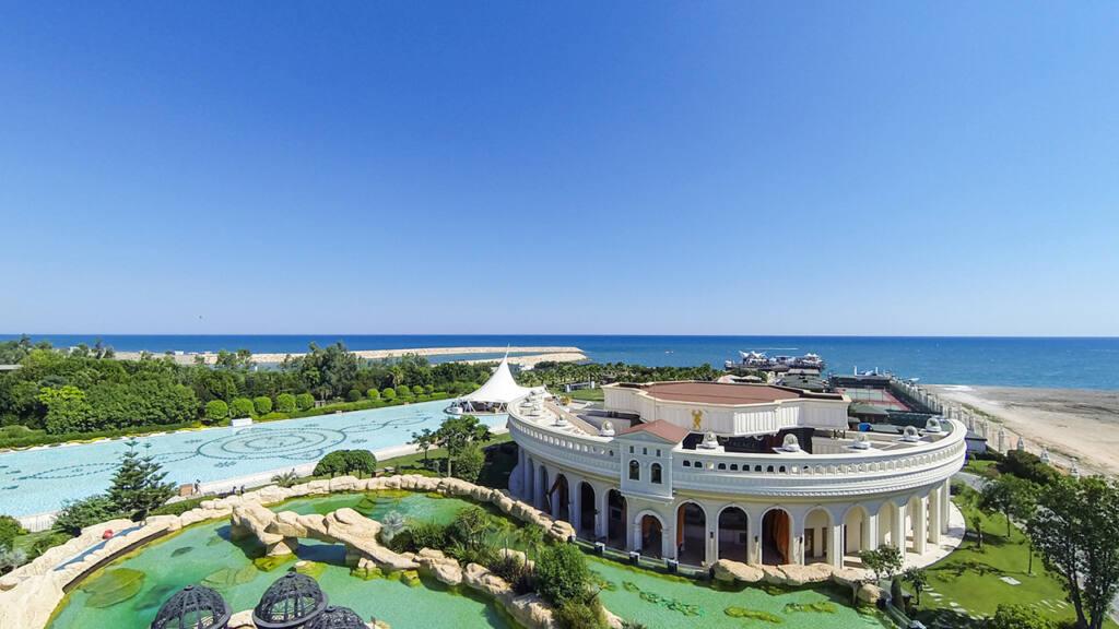 Grand Mardan Hotel Drone Çekimi 12