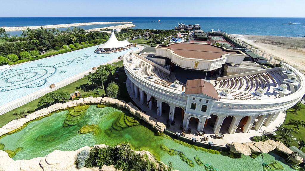 Grand Mardan Hotel Drone Çekimi 4
