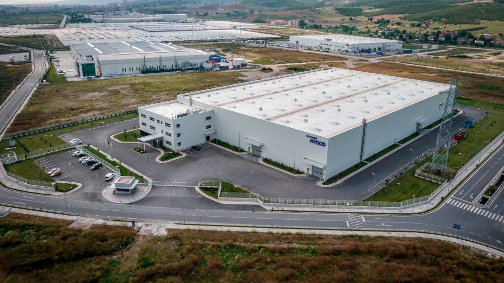 Hyundai Hysco Fabrikası Drone Çekimi 00015