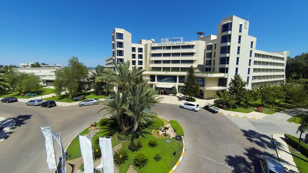 Mirage Park Hotel Drone Çekimi 5