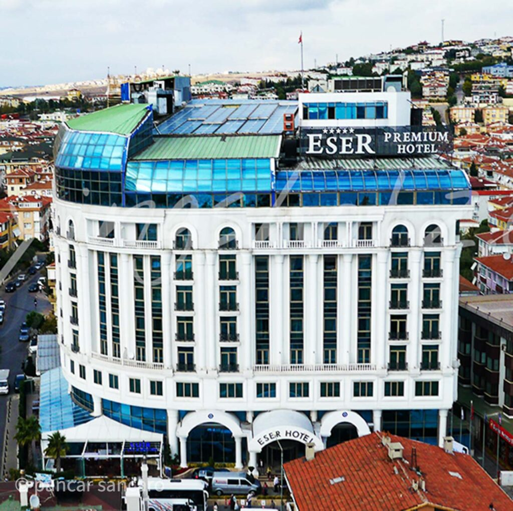Eser Premium Hotel Drone Çekimi-1