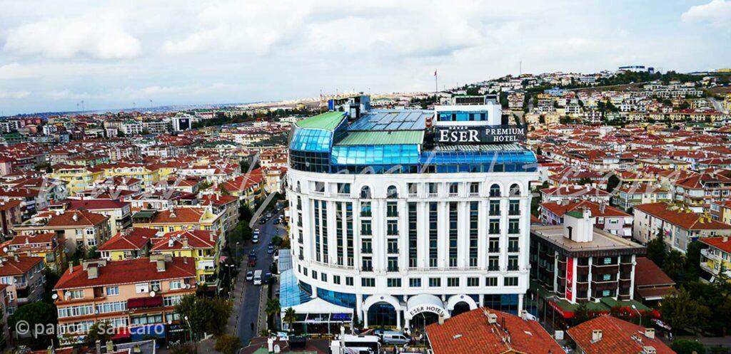 Eser Premium Hotel Drone Çekimi-2