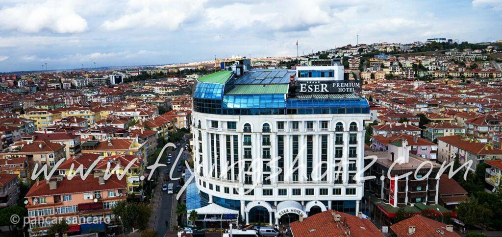 Eser Premium Hotel Drone Çekimi-3