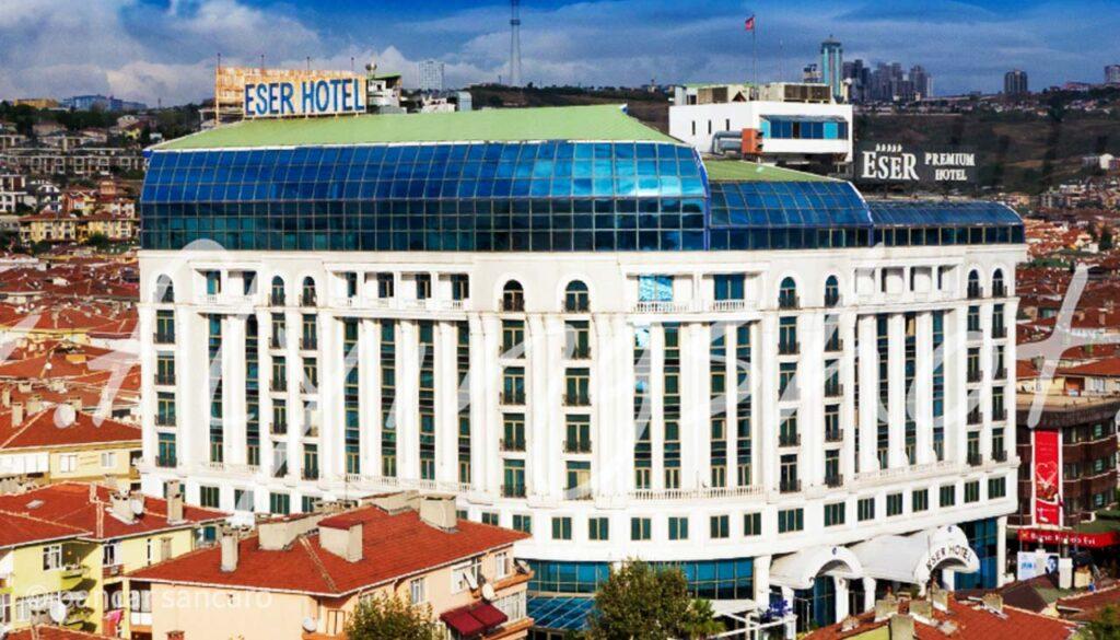 Eser Premium Hotel Drone Çekimi-4