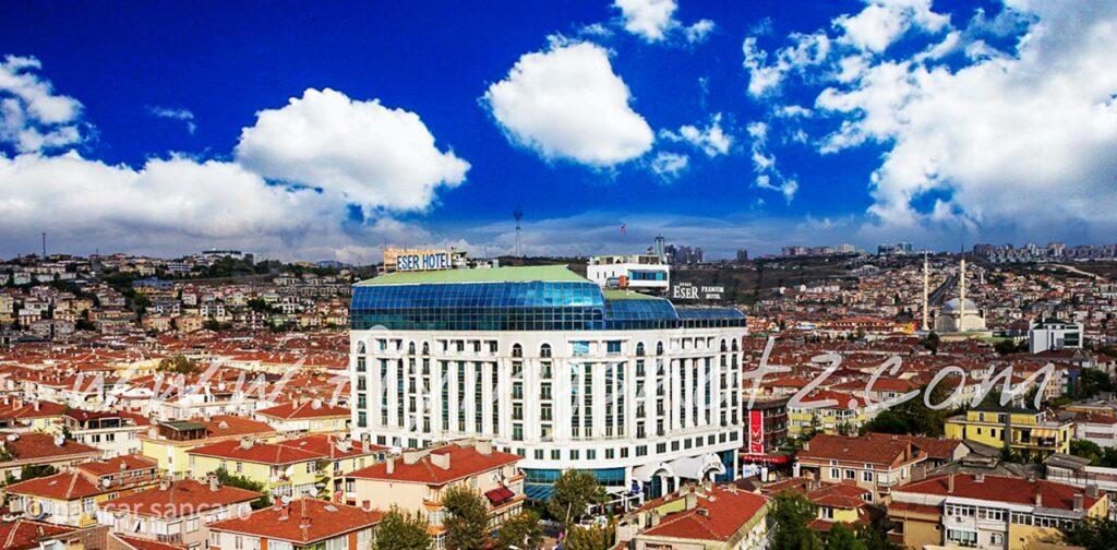 Eser Premium Hotel Drone Çekimi-5