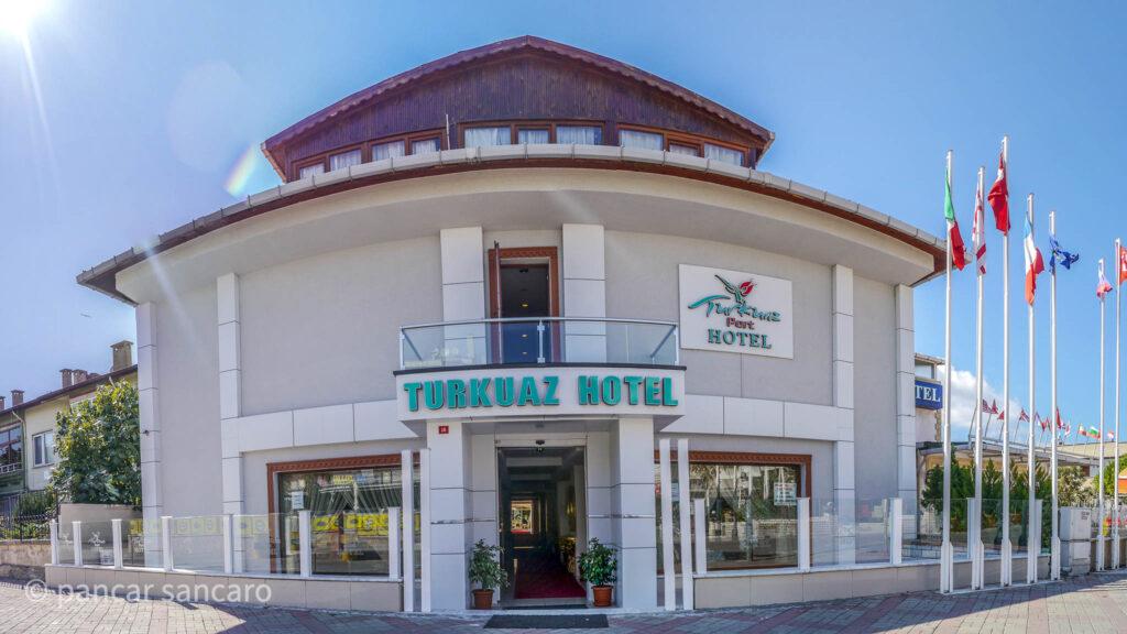 Turkuaz Hotel Havadan Fotoğraf Çekimi -1