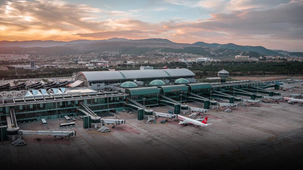 Adnan Menderes Havalimanı Çekimi