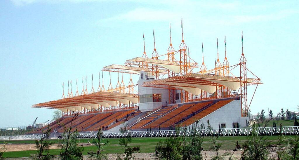 Türkmenistan Polimeks Hipodrom Çekimleri 1