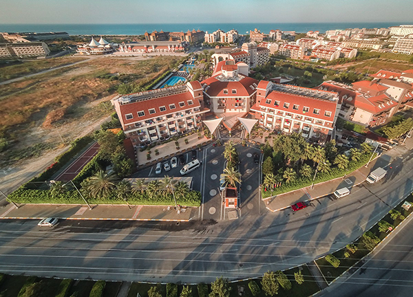 Hane Family Hotel Drone Çekimi 1