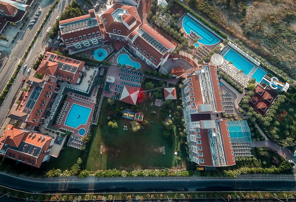 Hane Family Hotel Drone Çekimi 2