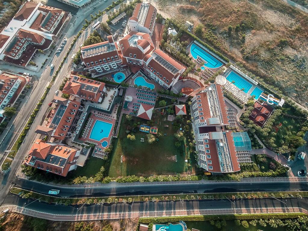 Hane Family Hotel Drone Çekimi 3