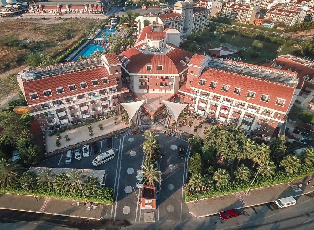 Hane Family Hotel Drone Çekimi 4