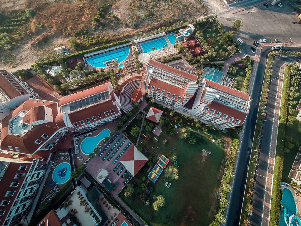 Hane Family Hotel Drone Çekimi 9