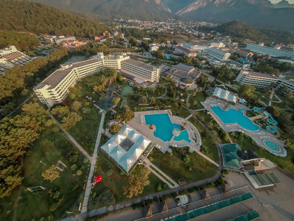 Majesty Mirage Hotel Drone Çekimi 4