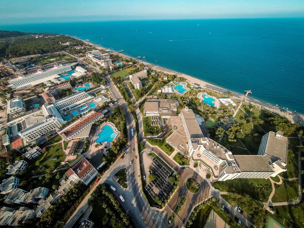 Majesty Mirage Hotel Drone Çekimi 6