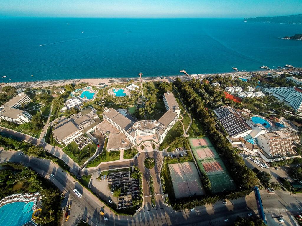 Majesty Mirage Hotel Drone Çekimi 7