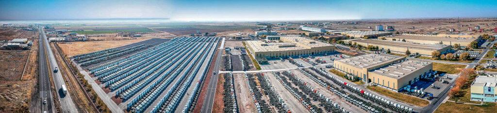 Mercedes Kamyon Fabrikası Drone Çekimi - 1