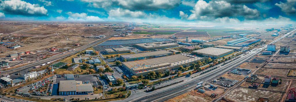 Mercedes Kamyon Fabrikası Drone Çekimi - 10