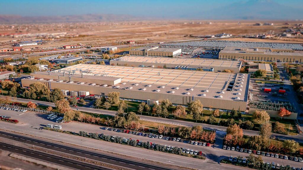 Mercedes Kamyon Fabrikası Drone Çekimi - 11
