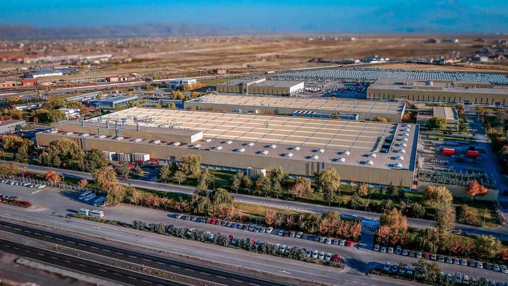 Mercedes Kamyon Fabrikası Drone Çekimi - 12
