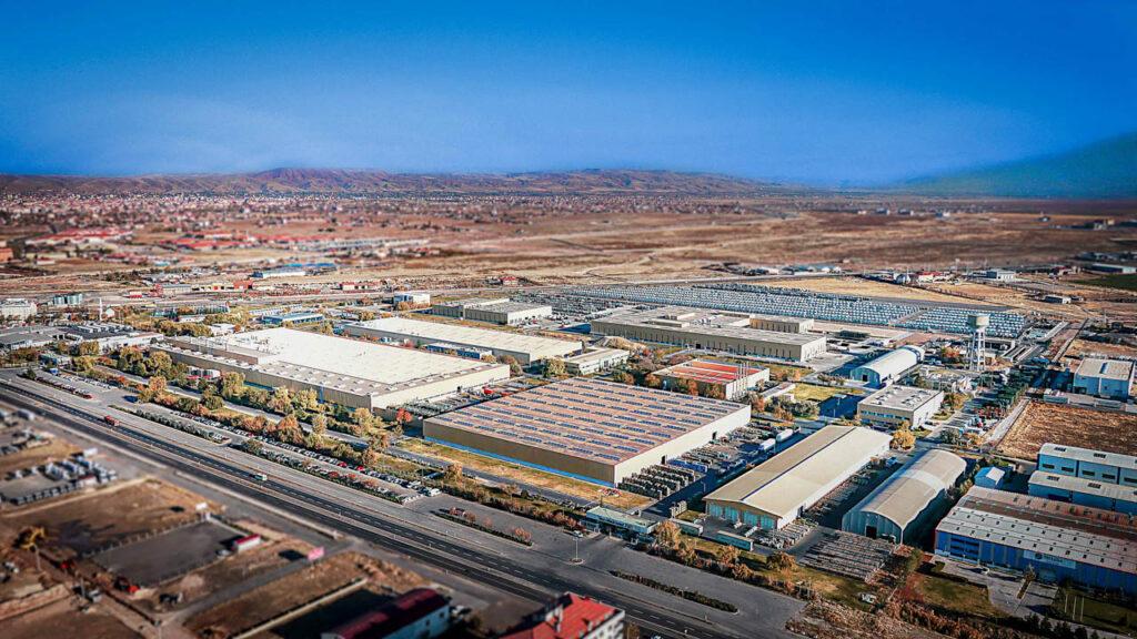 Mercedes Kamyon Fabrikası Drone Çekimi - 15
