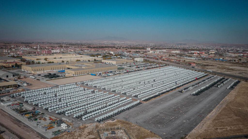 Mercedes Kamyon Fabrikası Drone Çekimi - 17