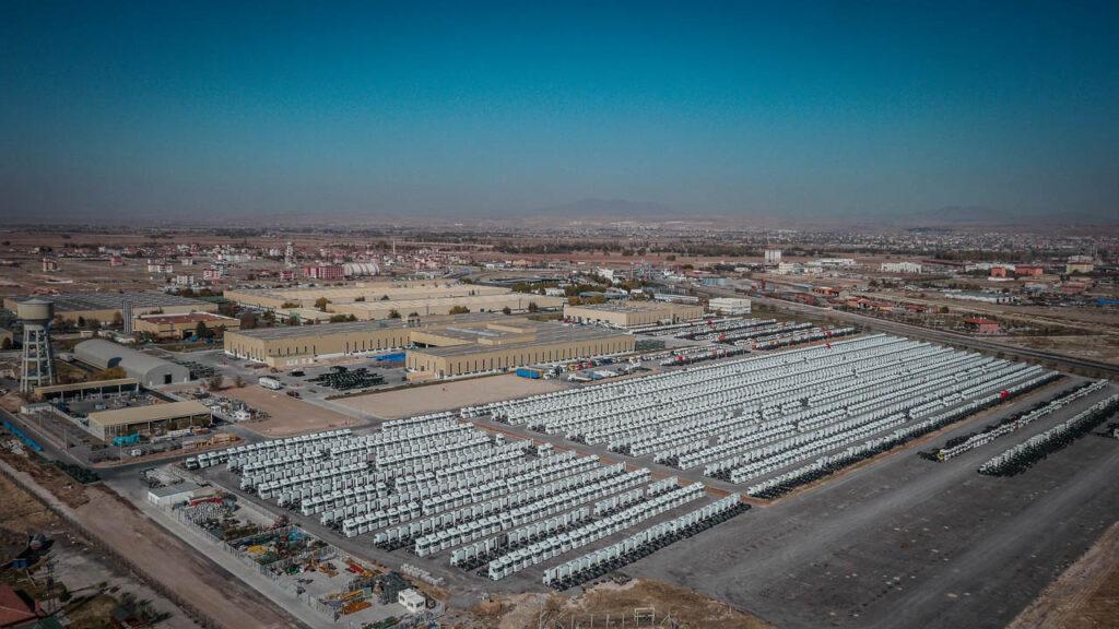 Mercedes Kamyon Fabrikası Drone Çekimi - 18