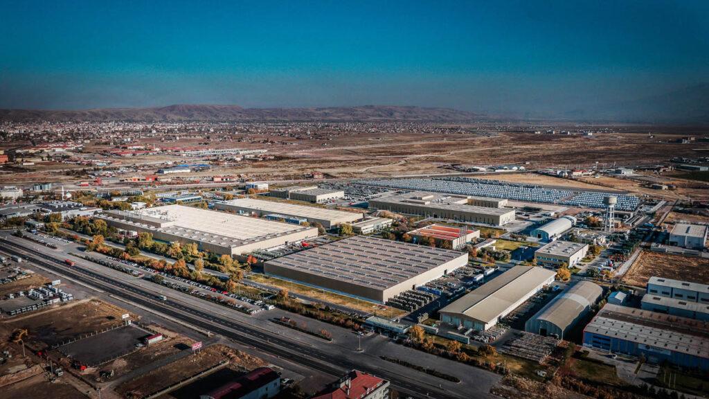 Mercedes Kamyon Fabrikası Drone Çekimi - 2
