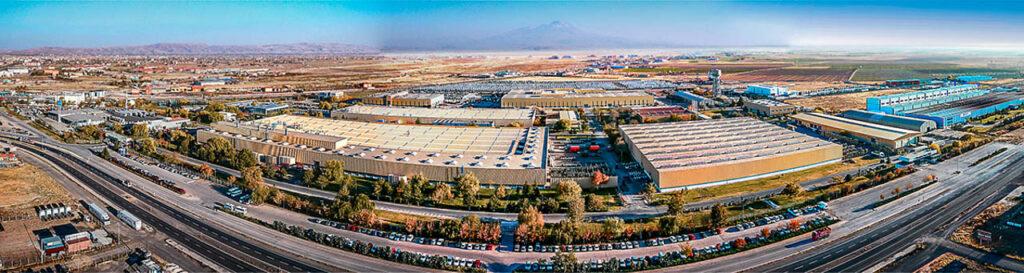 Mercedes Kamyon Fabrikası Drone Çekimi - 3