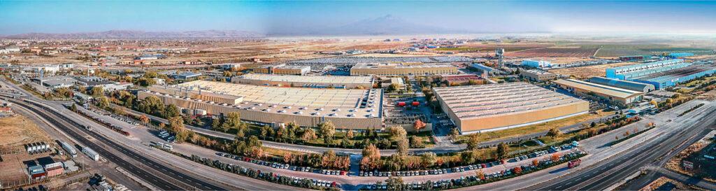Mercedes Kamyon Fabrikası Drone Çekimi - 4