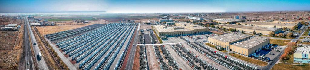 Mercedes Kamyon Fabrikası Drone Çekimi - 5