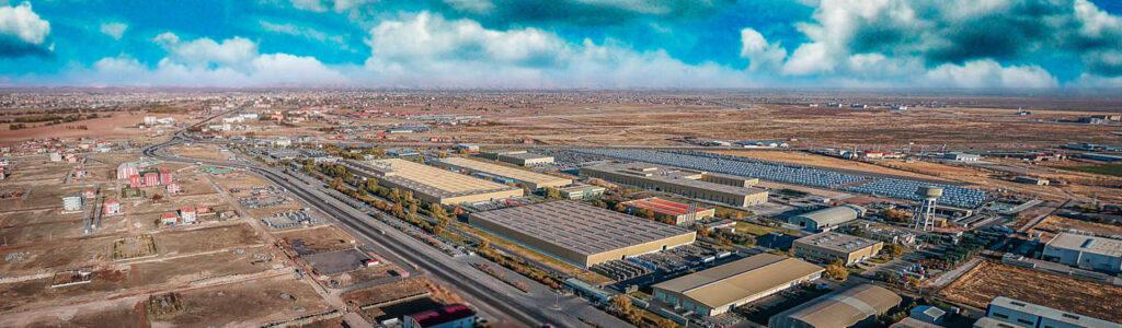 Mercedes Kamyon Fabrikası Drone Çekimi - 8