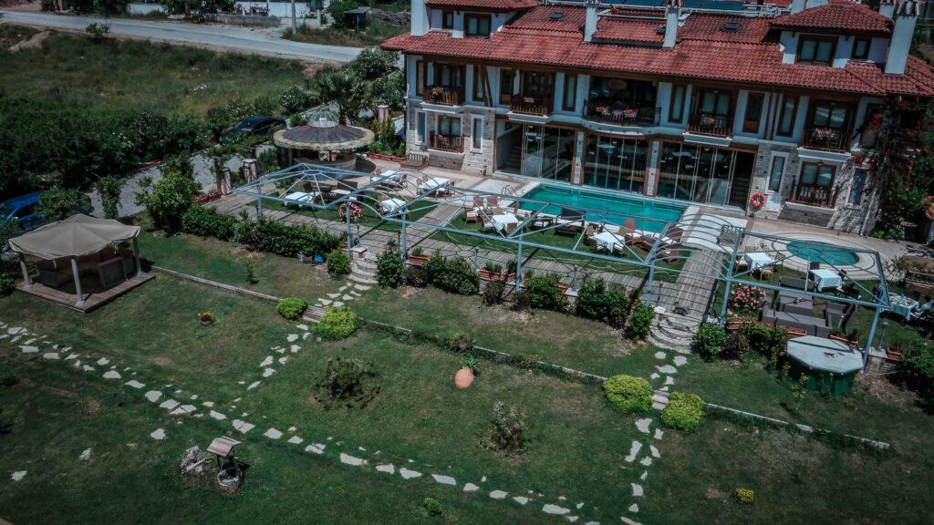 Ottoman Hotel Havadan Çekim 2