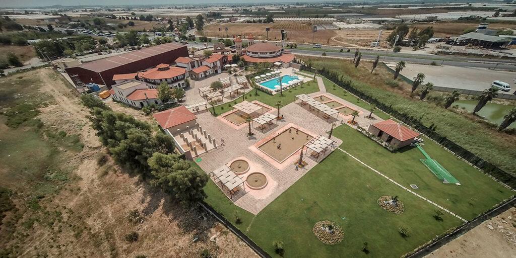 Peloid Antalya Spa Center Havadan Çekim 2