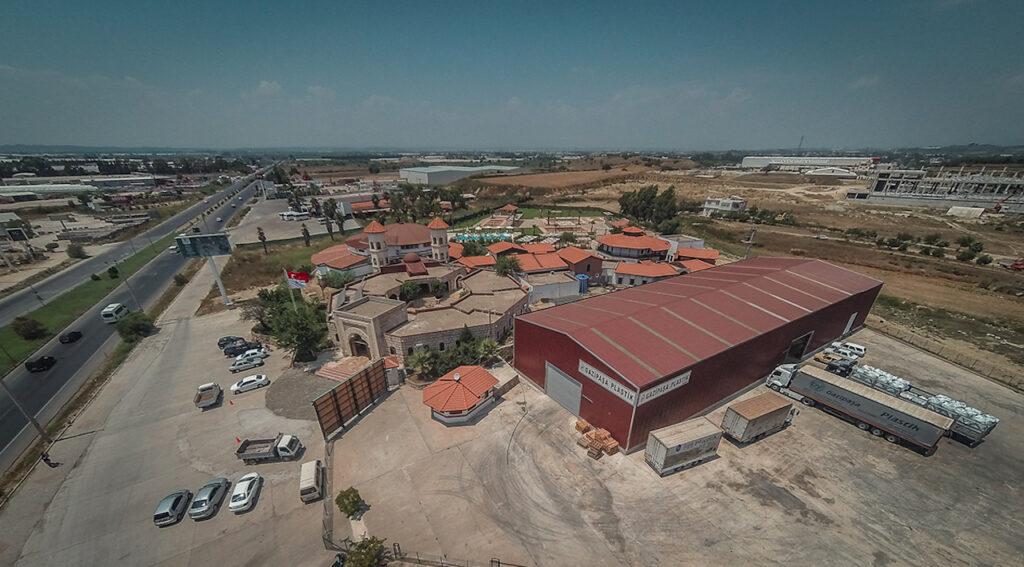 Peloid Antalya Spa Center Havadan Çekim 3